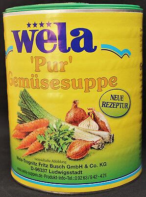 """wela - Gemüsebrühe """"pur""""  62,5 Liter"""
