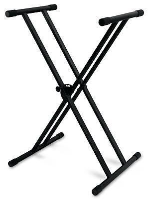 Doppelstrebiger X Keyboard Ständer Stativ Stage Piano Stand Scheren Ständer