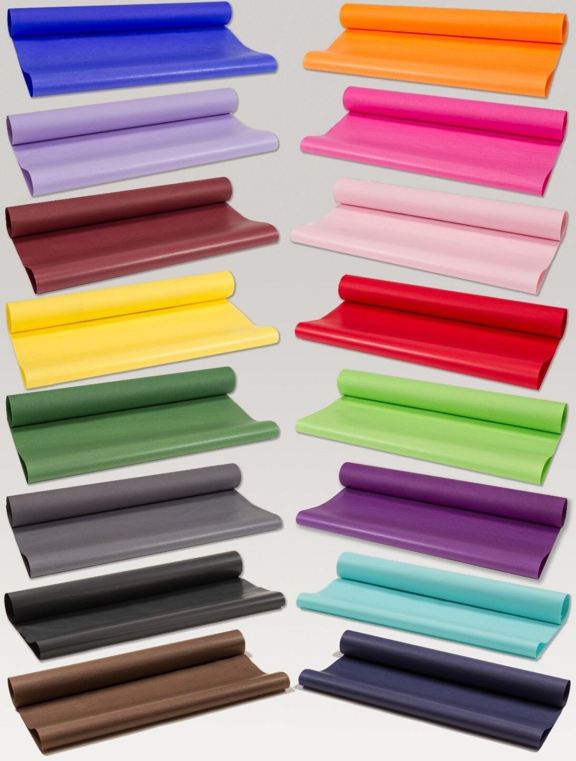 8,00€/KG Seidenpapier farbig 50x75cm 5KG=ca.430 Bogen Blumenseide Farbauswahl