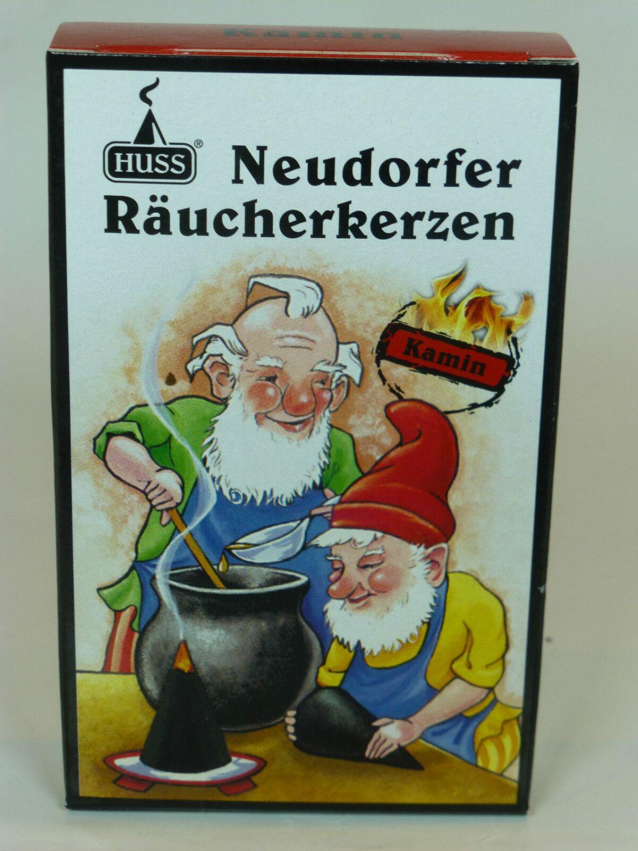HUSS Neudorfer Räucherkegel Räucherkerzen(24 Stück)  große Auswahl 20 Sorten