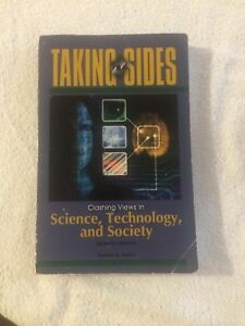 Taking Sides   Buy or Sell Books in Ontario   Kijiji Classifieds Taking Sides Textbook science technology and society