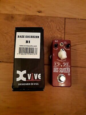 Xvive XB1 Bass Squeezer Compressor Micro Pedal