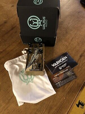 Walrus Audio Warhorn Mid-Range Overdrive - Excellent, Boxed