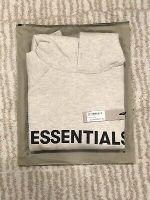 Fear Of God FOG Essentials Pullover Hoodie Oatmeal Medium SS20 FW20
