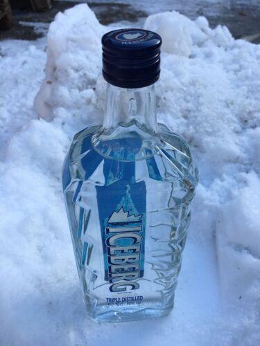 6x0,7l  Eisberg VODKA Wodka aus Kanada Eis 12000Jahre vielleicht Titanic Kontakt