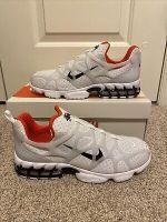 Nike x Stussy Air Zoom Spiridon Cage 2 Kukini CJ9918-100 White Shoes Size 9