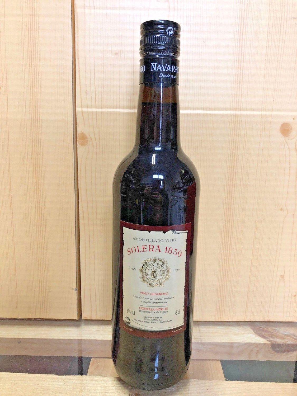 Amontillado Viejo Solera 1830 1x750ml der Sherry Nachbar Montilla Moriles über20