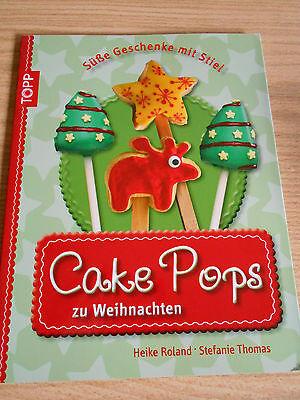 Backbuch - Cake Pops zu Weinachten - backen - kuchen - NEU