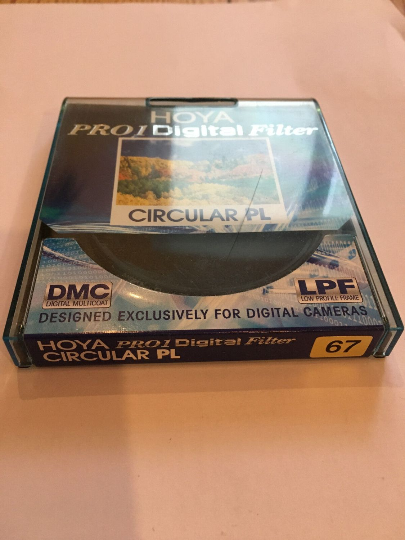 Hoya Pro1 Digital Polfilter Polarisationsfilter Circular 67mm Pol-Filter