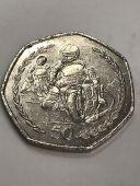 1997 Isle of Man Philip McCallen TT 50p coin - Circulated
