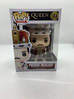 FUNKO POP! ROCKS: Queen- Freddie Mercury King MINT IN STOCK W/Protector!