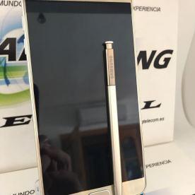 SAMSUNG-NOTE-5-SM-N920C-32GB-ORO-DORADO-USADO-GRADO-A-PERFECTA-CONDICION