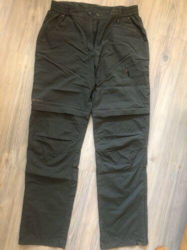 Damen Wanderhose - Lafuma - Gr. 38 Olivgrün mit abnehmbaren Beinen