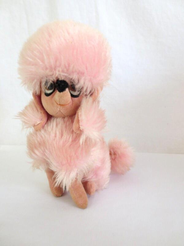 Vintage Stuffed Poodle EBay