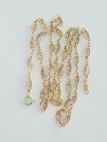 """Vintage Solid 14K Yellow Gold LINK Chain 18"""""""