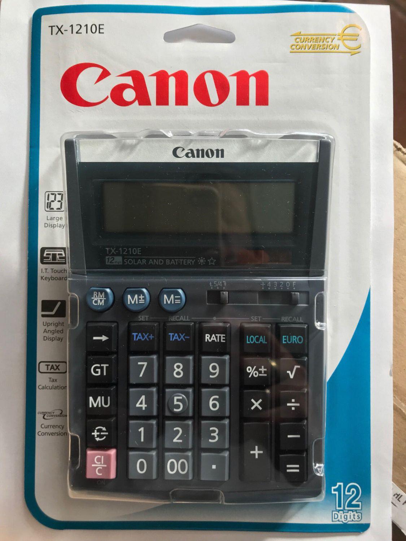 CANON TX-1210E DBL EMEA Taschenrechner