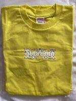Supreme Bandana Box Logo Tee Yellow Small