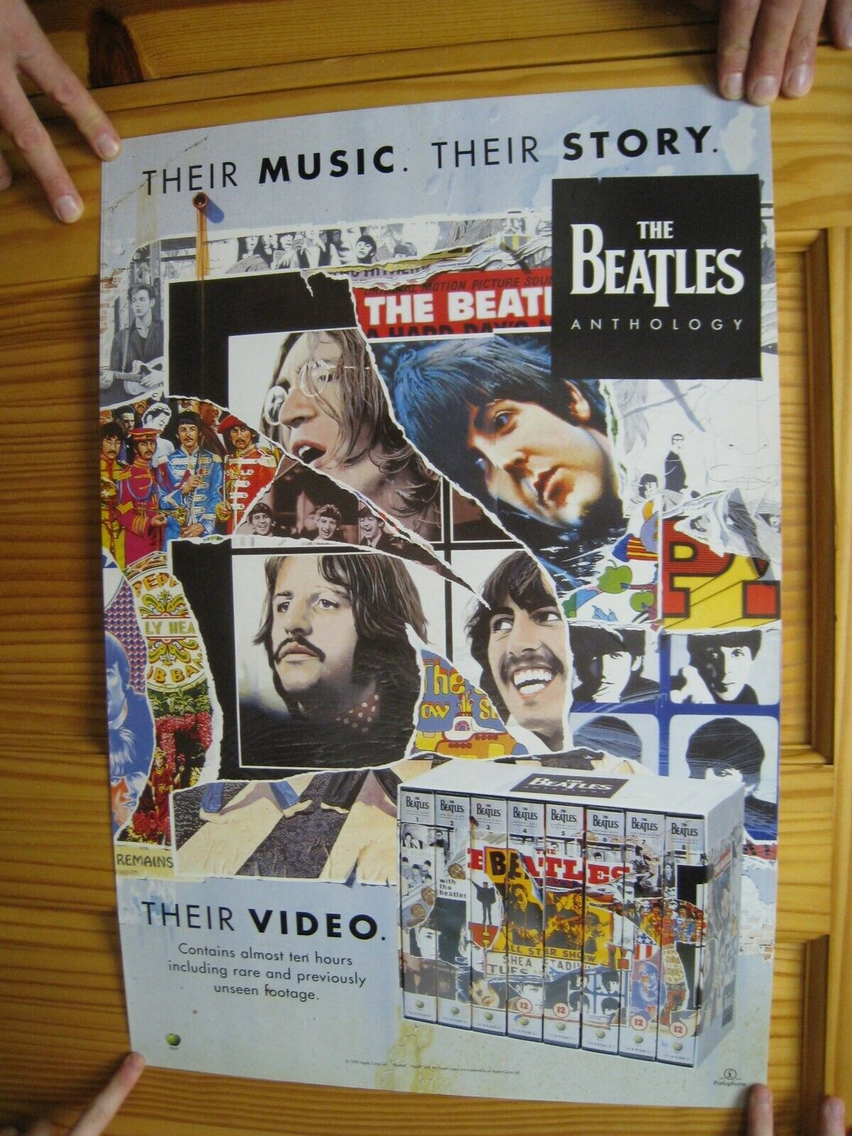 the beatles poster anthology their