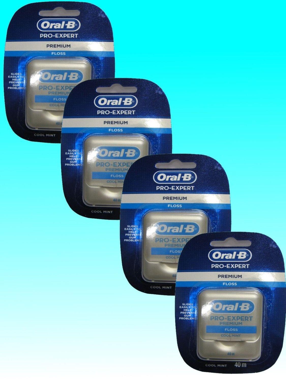 Oral-B PRO-EXPERT Premium Zahnseide 40 m Spender 1er - 4er Pack Floss