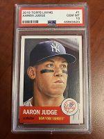 2018 Topps Living Aaron Judge Baseball Card PSA 10