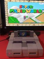 🔥 💯 WORKING SUPER NINTENDO CONSOLE SNES SYSTEM ONLY - LATE ISSUE 🔥 NICE GRAY