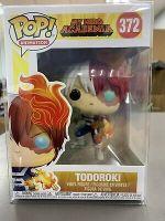Funko POP! Animation: My Hero Academia TODOROKI Figure #372 w/ Protector