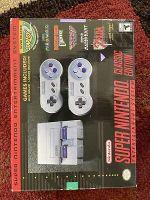 Super Nintendo SNES Classic Edition Mini Game Console - 21 Built-In Games