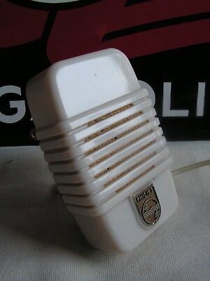 1930 ART DECO PHILIPS HOLLAND CRYSTAL MICROPHONE MACHINE AGE CATALIN VERY RARE