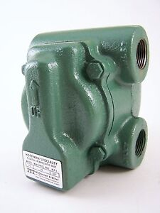 Itt Hoffman Specialty Float Thermostatic Trap 55 3 4 Steam
