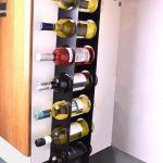 Details About Kitchen Under Cabinet Space Filler Wine Rack 7 Bottle Holder Unit Shelf Modern