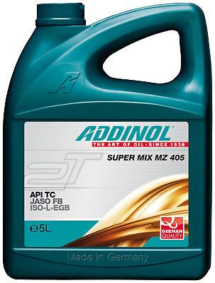 5 Liter Kanister Addinol Super MIX MZ 405 Mischöl Zweitaktöl Motoröl 2-takt Öl