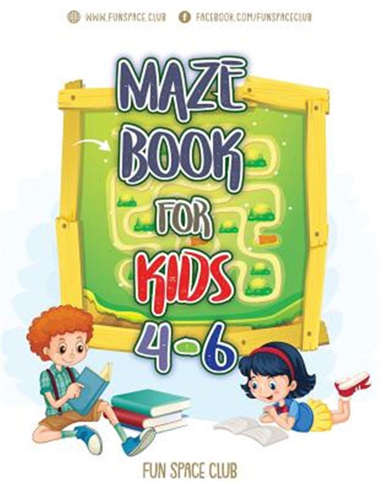 Maze Books For Kids 4 6 Amazing Maze For Kids Activity