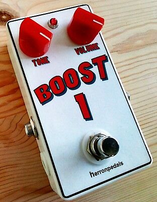 Clean Boost / Treble Boost Handmade Guitar effects pedal