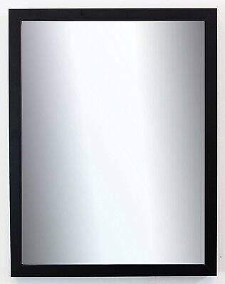 Garderobenspiegel Schwarz Como Modern 2,0 - NEU alle Größen