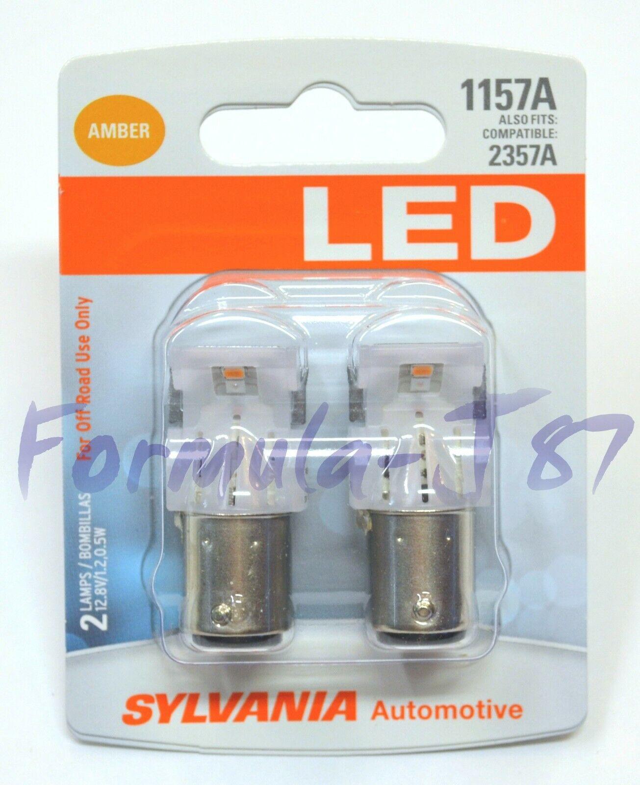 sylvania premium led light 1156 amber