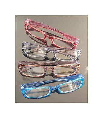 4x Lesebrillen Lesehilfe Brille Augenoptik Lesebrille Sehstärke Sehhilfe **