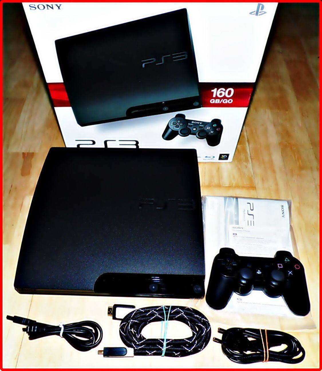 Sony Playstation 3 PS3 & ZUB Auswahl: 40-320GB SLIM/FAT +HMDI+SPIELE-OVP
