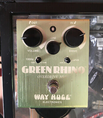 Way Huge Green Rhino MkII WHE202 Overdrive Distortion Pedal