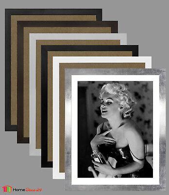 Bilderrahmen MONTANA Acrylglas klar Wahl: Farbe und Größe Poster Rahmen Modern