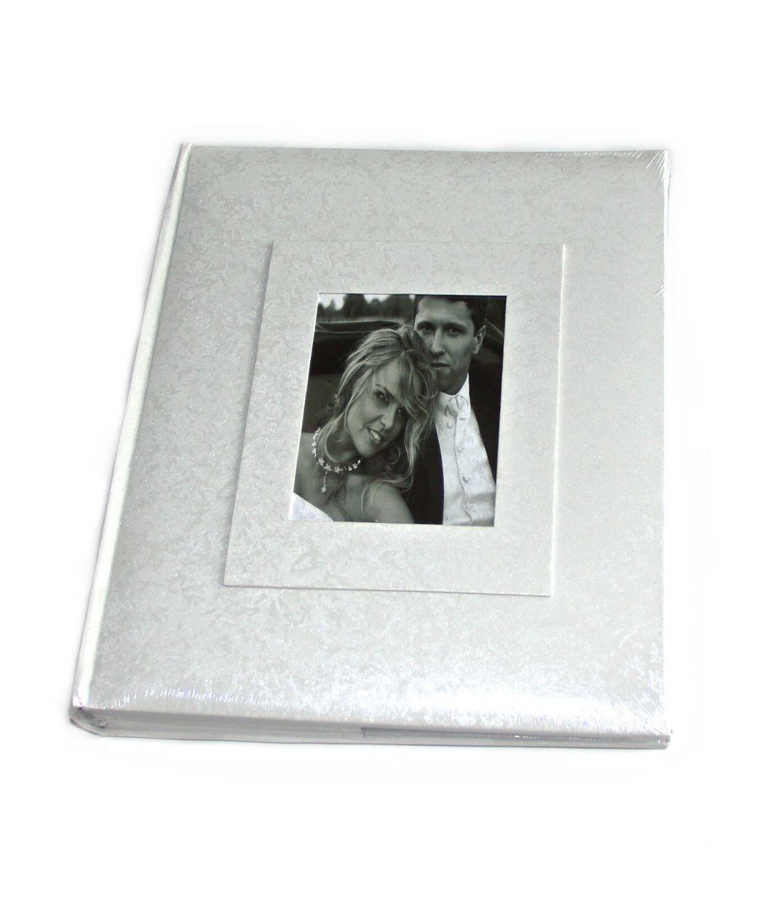 EXKLUSIV Hochzeitsalbum Fotoalbum Hochzeit Fotos 60 schwarze Seiten 24x29cm amo