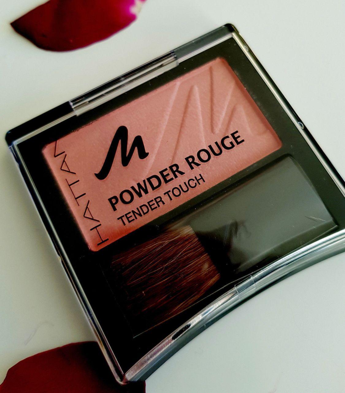 Manhattan Puder Powder Rouge Blush Tender Touch mit Vitamin Fresh Peach 53 N