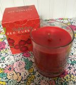 NEW IN BOX STELLA MARE RED CURRANT SCENTED SOY CANDLE