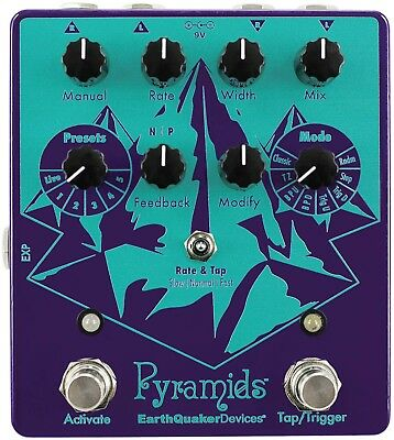 EarthQuaker Devices, Pyramids Stereo Flanging Pedal, Brand NEW in Box