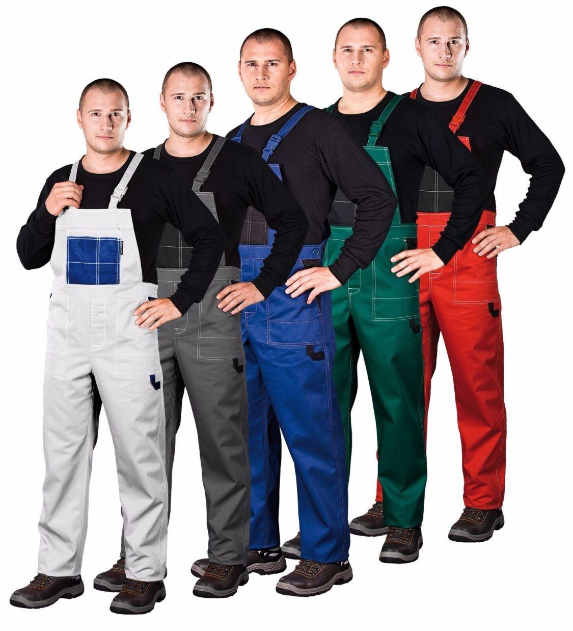 Latzhose S - XXXL Arbeitskleidung Arbeitslatzhose Sicherheitshose Arbeitshose T1