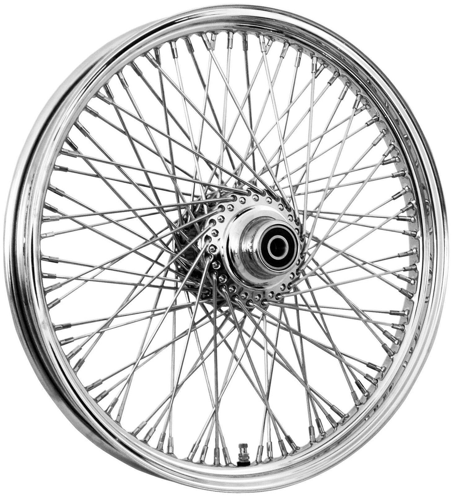 80 Spoke 21 Billet Hub Front Wheel 21 X 2 15 Harley Dyna