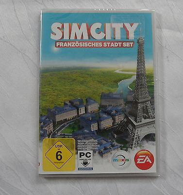 Sim City - Französisches Stadt Set Add-on für PC Neu in Folie