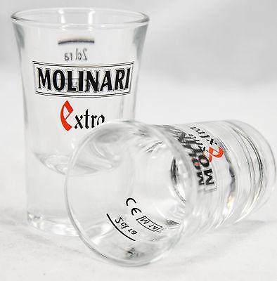 Molinari Sambuca Extra, Kaffee Shot Glas, Stamper, Schnapsglas, Kaffeeglas