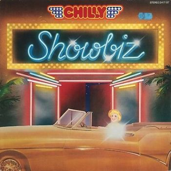 CHILLY ‎– Showbiz 1980 Polydor ‎– 2417 137 German Cosmic Italo Euro-Disco LP EX+