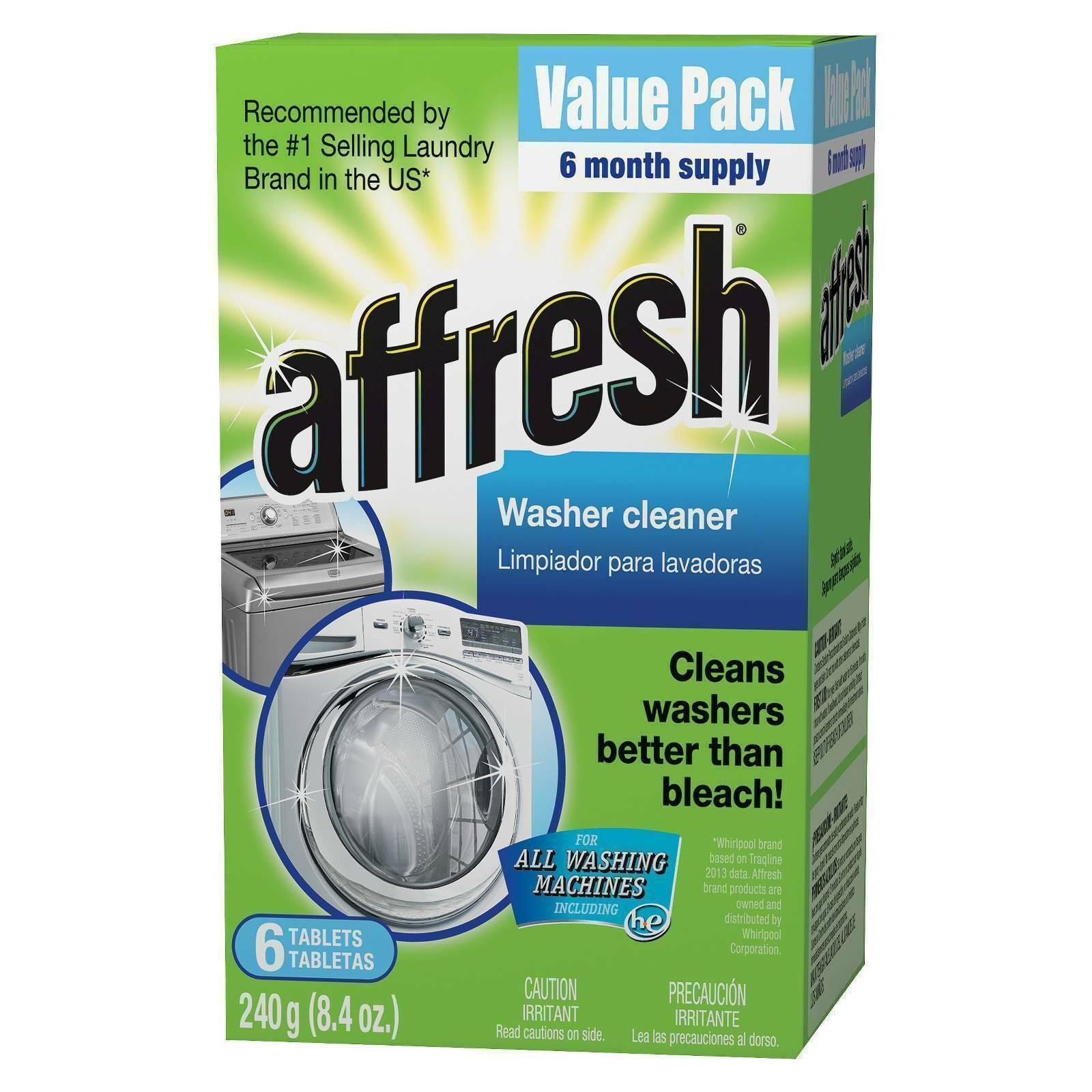 Affresh W10501250 Washing Machine Cleaner 6 Tablets For Sale Online Ebay