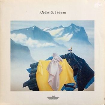 Mickie D's Unicorn ‎1979 Innovative Communication Synth Electro Klaus Schulze LP